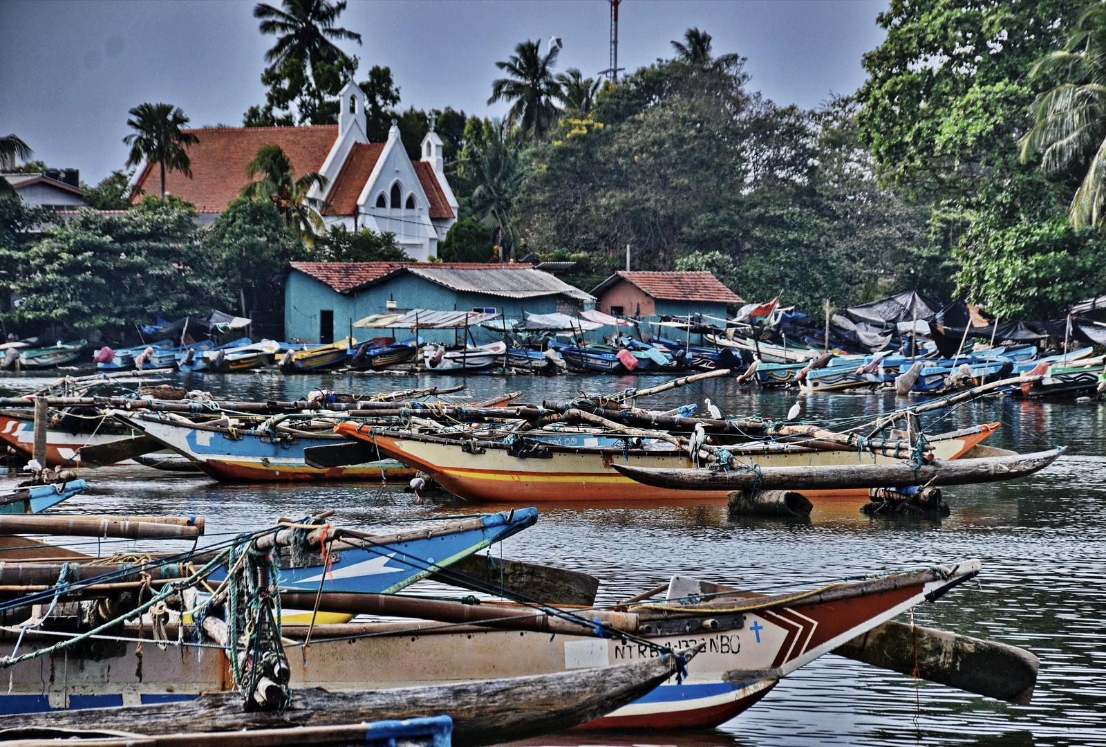 Sri Lanka, Negombo port