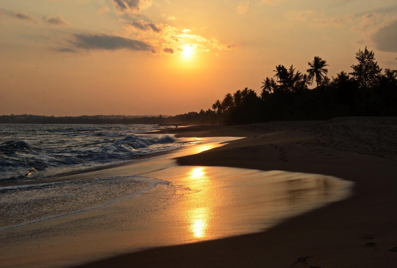 Sri Lanka, Tangalle sunset