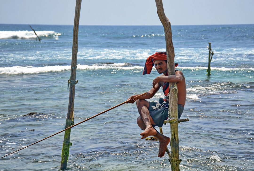 Sri Lanka, the iconic stilt fishermen