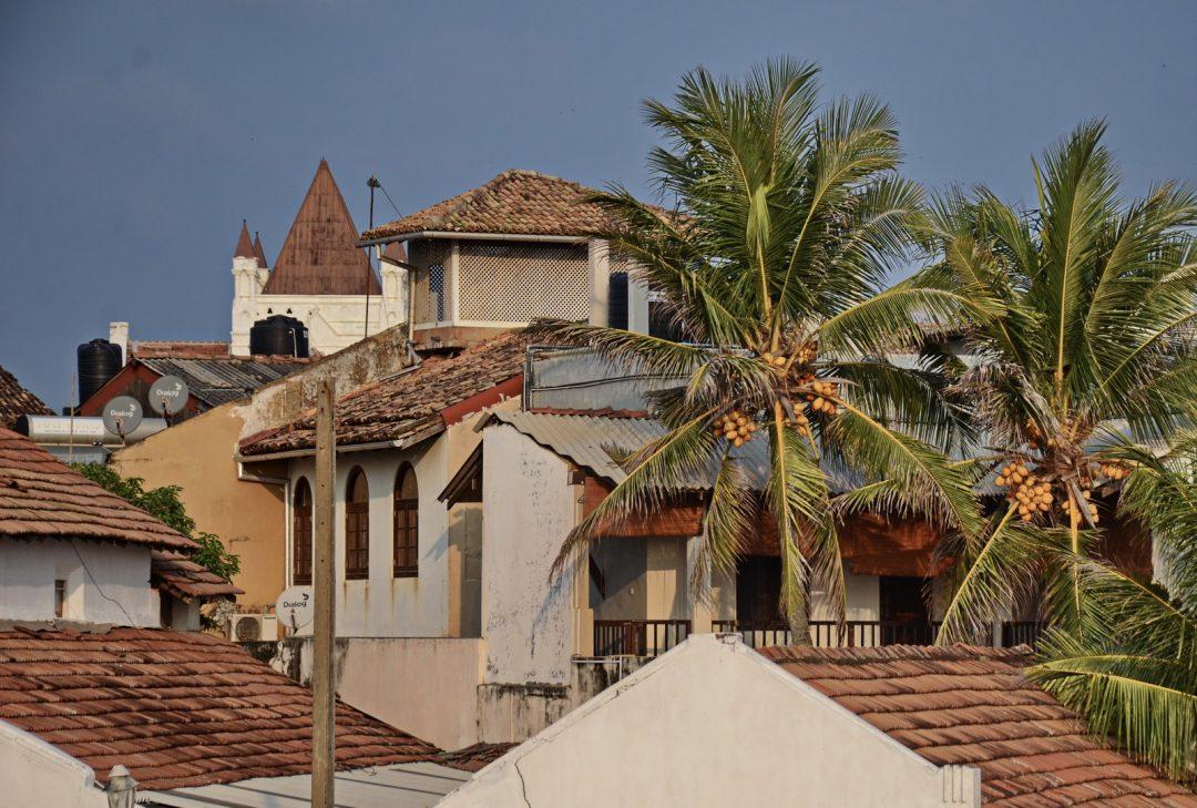 Sri Lanka, old town Galle