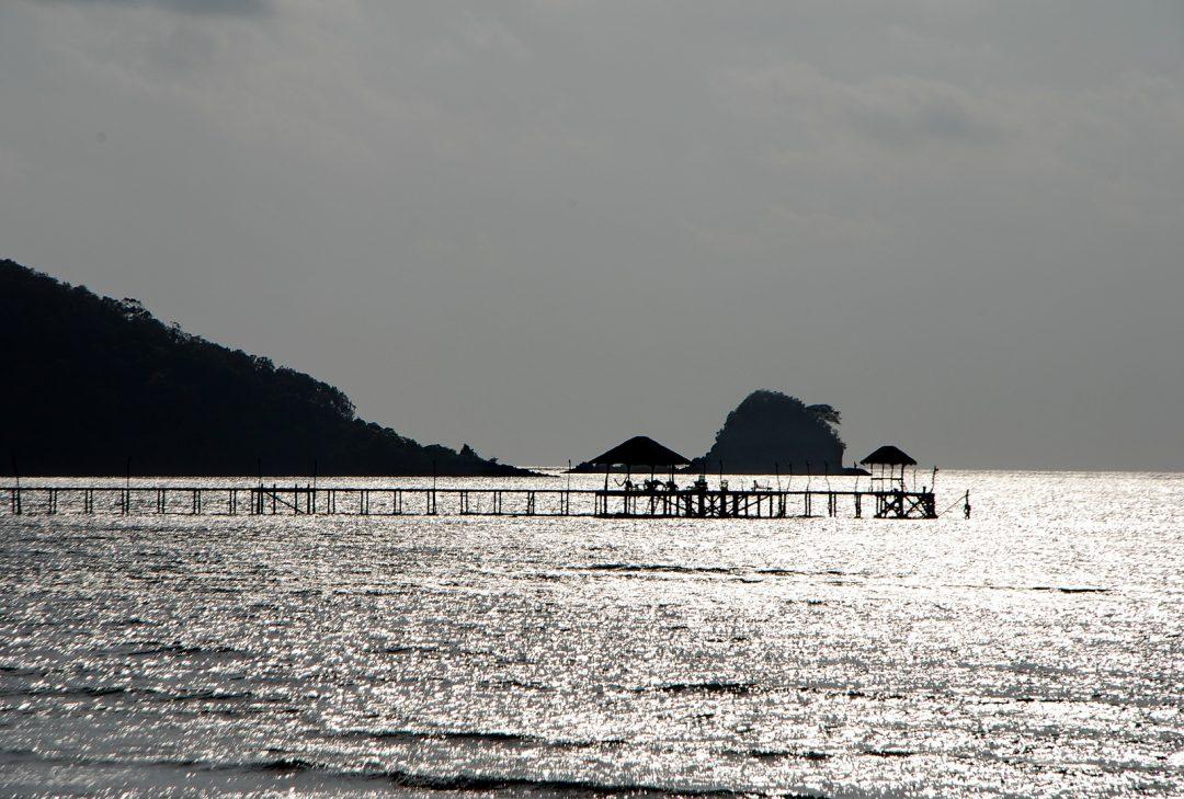 Thailand, Koh Mak at dusk