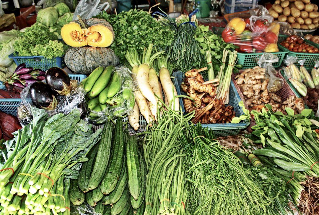 Thailand, market produce