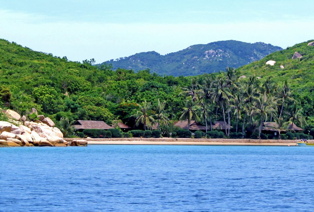Vietnam, Whale island, the island