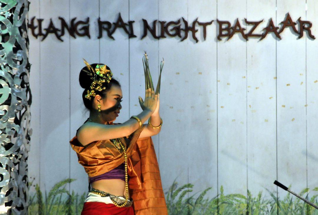 Thailand, Chiang Rai night bazaar