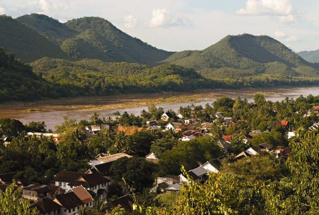 Laos and Cambodia tour, Luang Prabang view