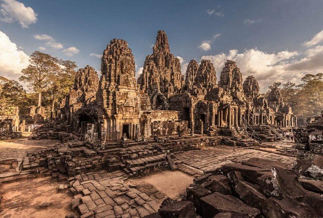 Cambodia, Bayon, by Gary Latham