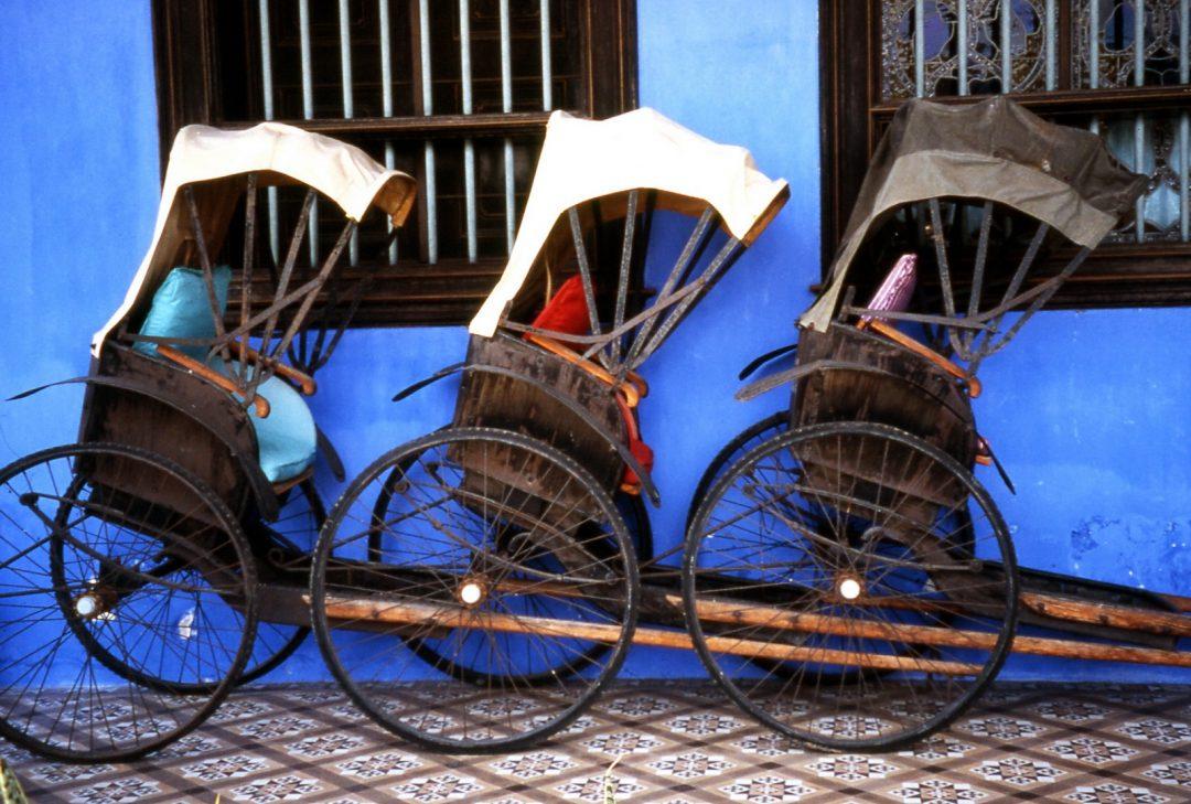Malaysia, Penang rickshaws