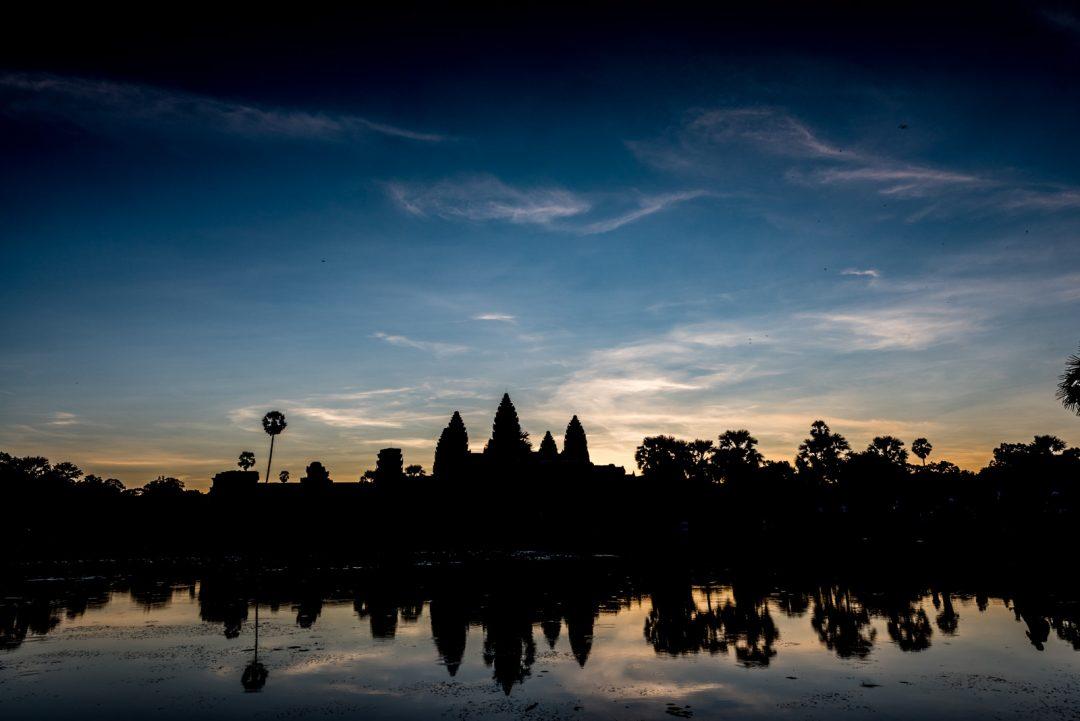 Cambodia, Angkor Wat sunrise (by Jeff Perigois)