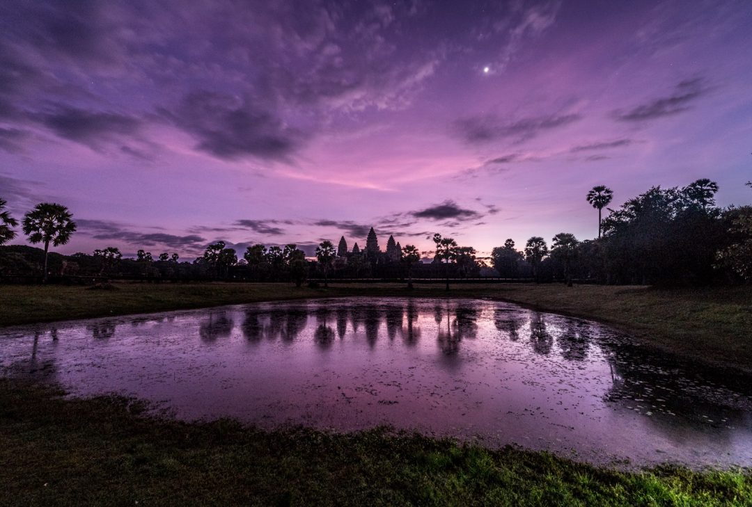 Cambodia, Angkor sunrise by Jeff Perigois