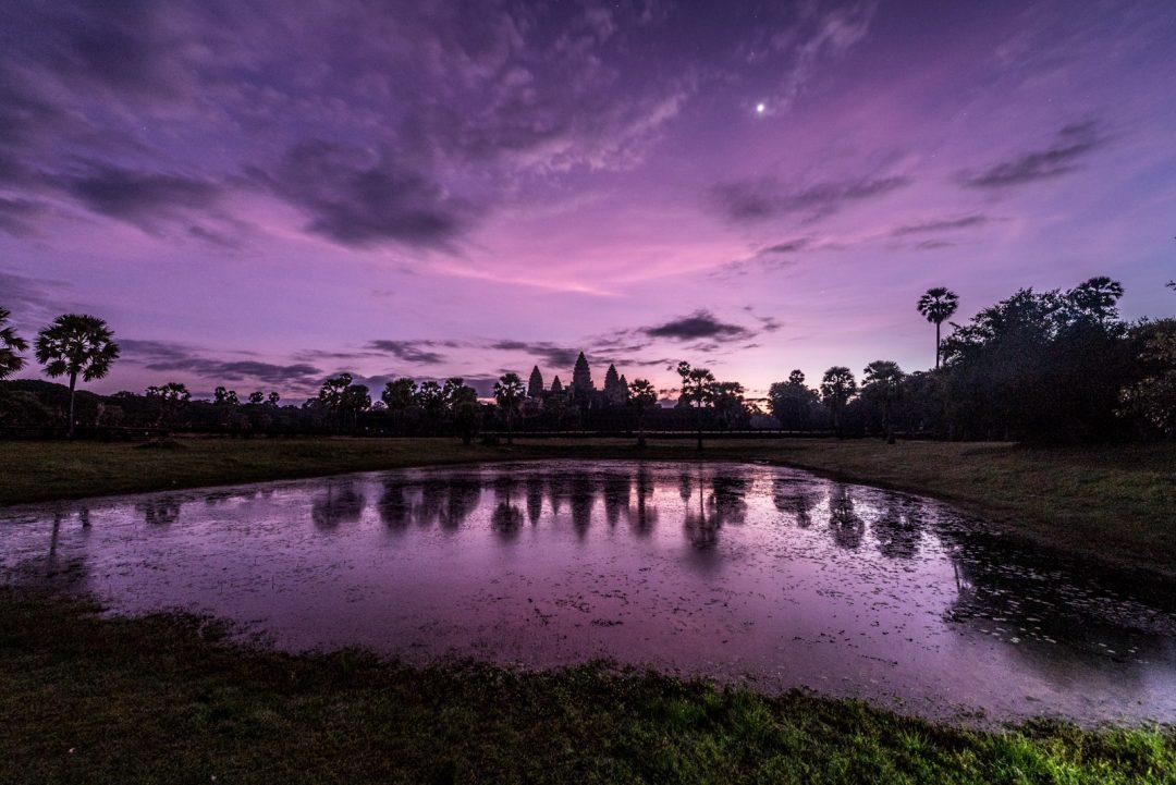 Cambodia, Angkor Wat dawn (by Jeff Perigois)