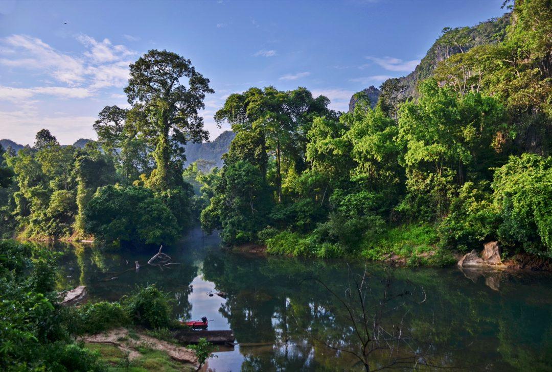 Laos, Hin Boun River