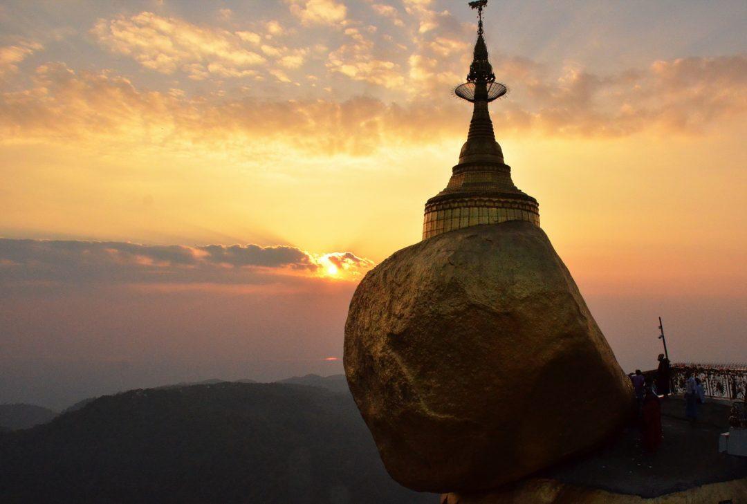 Burma, Golden Rock