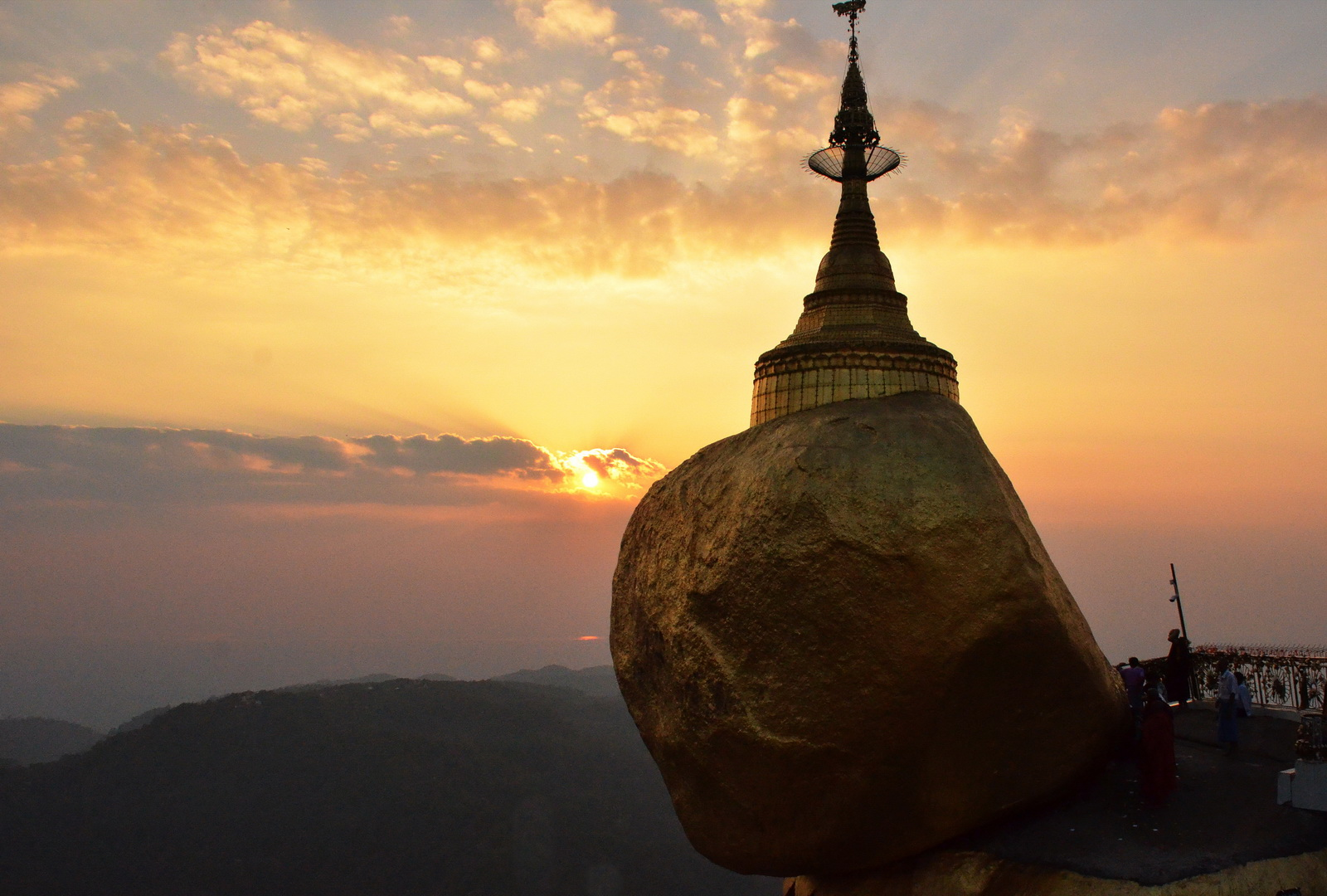 Burma, Golden Rock