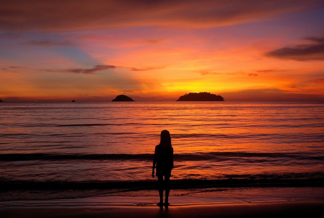 Thailand, Koh Chang sunset