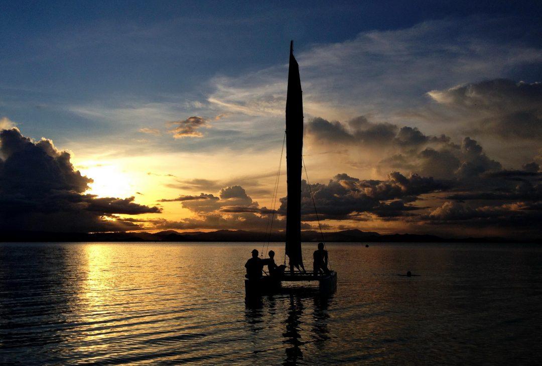 Thailand, Koh Thalu sailing