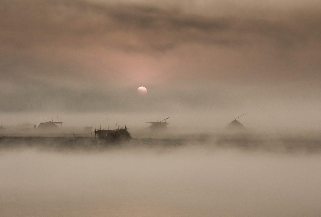 Burma, Myanmar, Irrawaddy dawn (by Gary Latham)