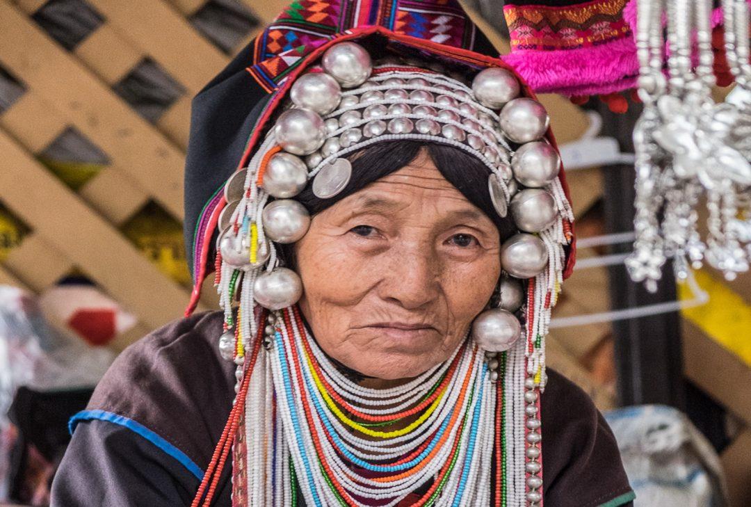 Thailand, Akha woman (by Gary Latham)