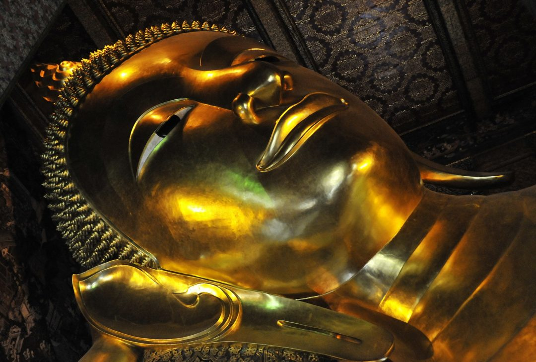Thailand, Bangkok reclining Buddha