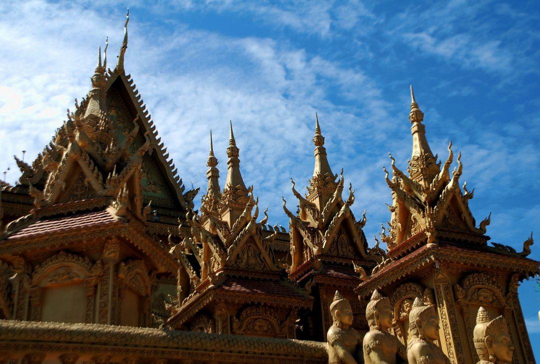 Cambodia, Wat Kean Kleang