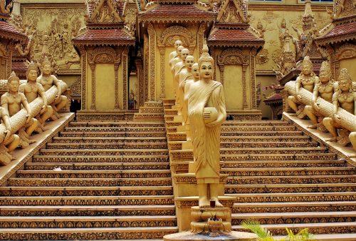 A favourite Phnom Penh Temple, Cambodia