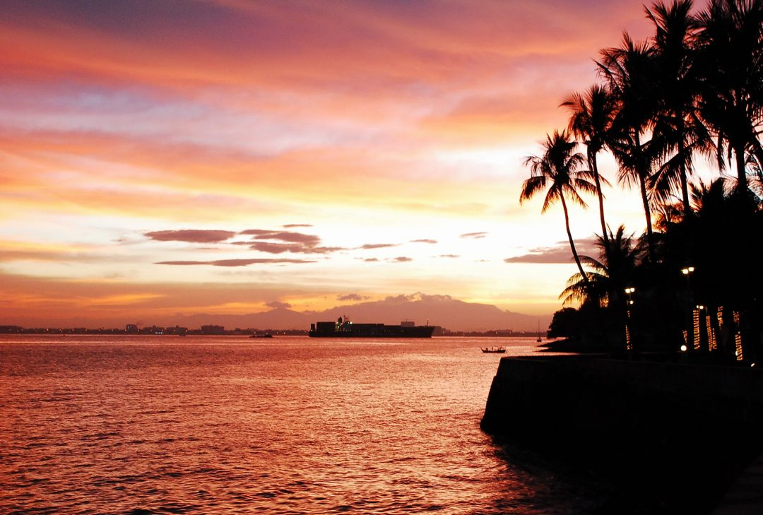 Malaysia, Penang sunset