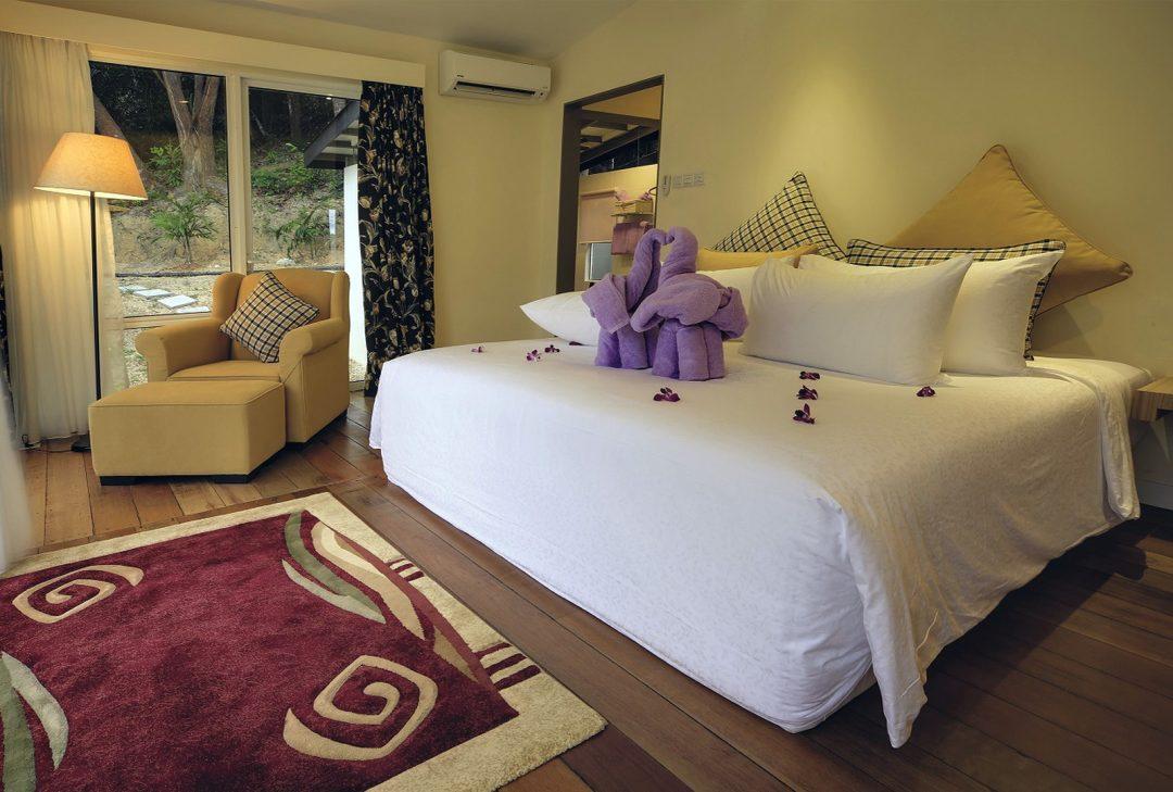 Malaysia, Borneo, Manukan accommodation