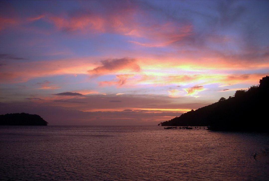 Malaysia, Borneo, Manukan sundowners