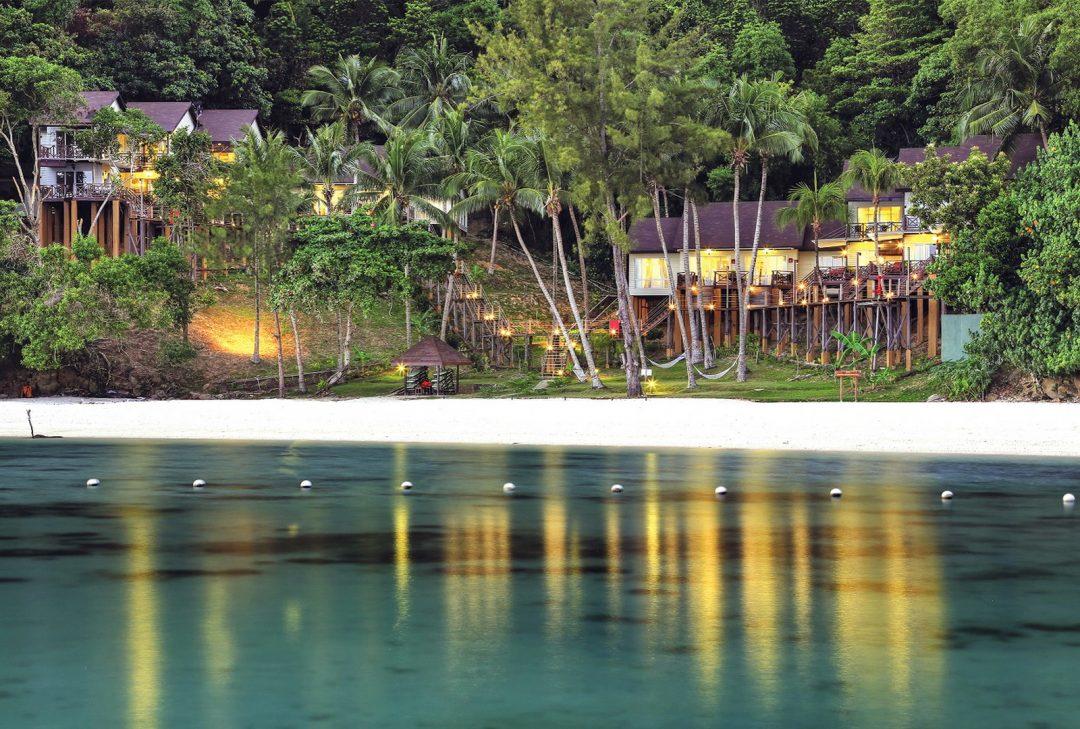 Malaysia, Borneo, Manukan Resort