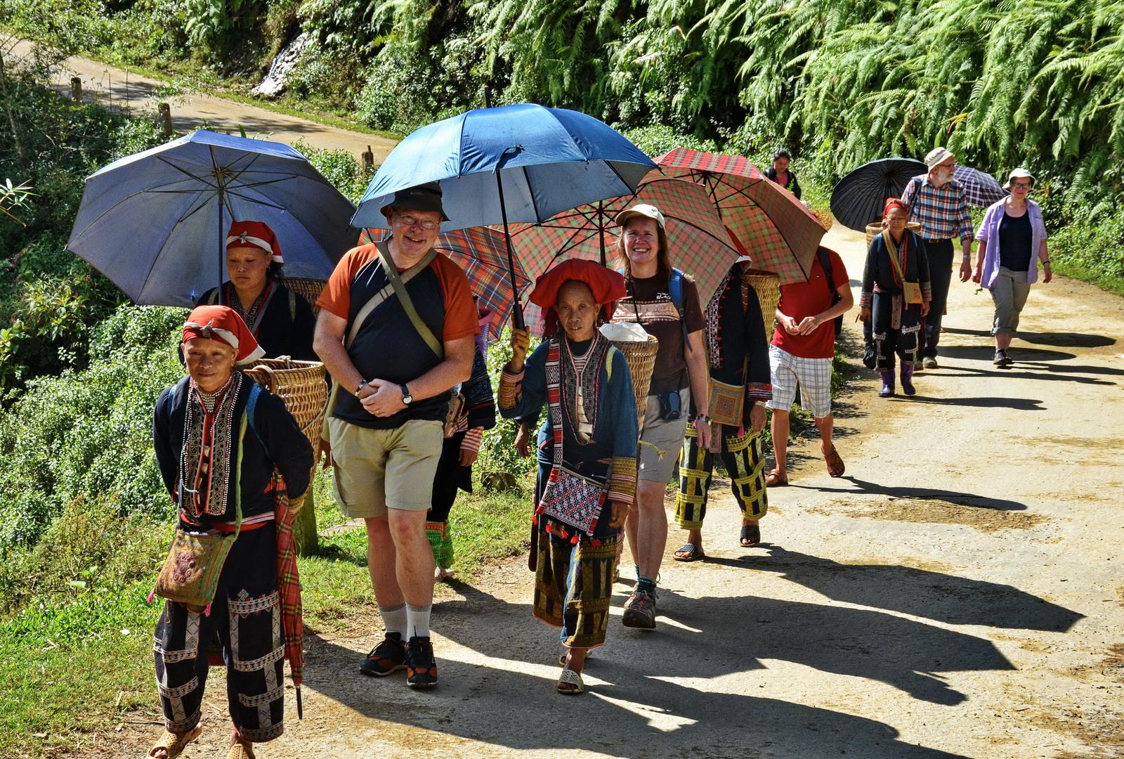 Our Sapa trekking party