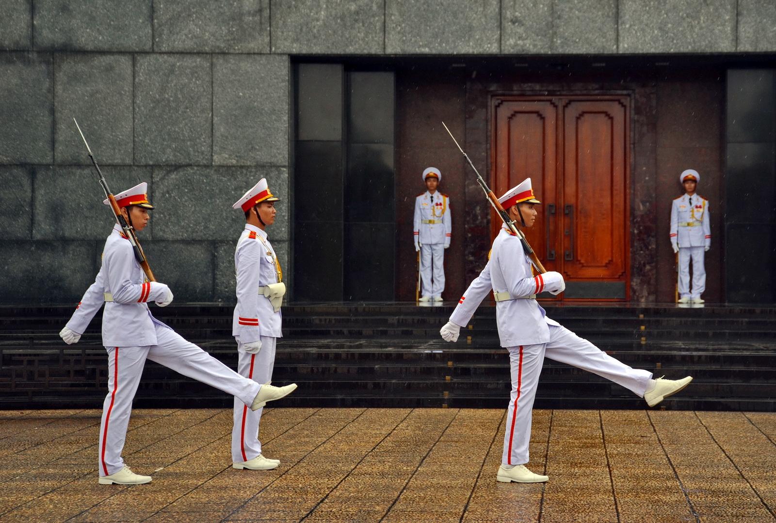 Ho Chi Ming Mausoleum, Hanoi