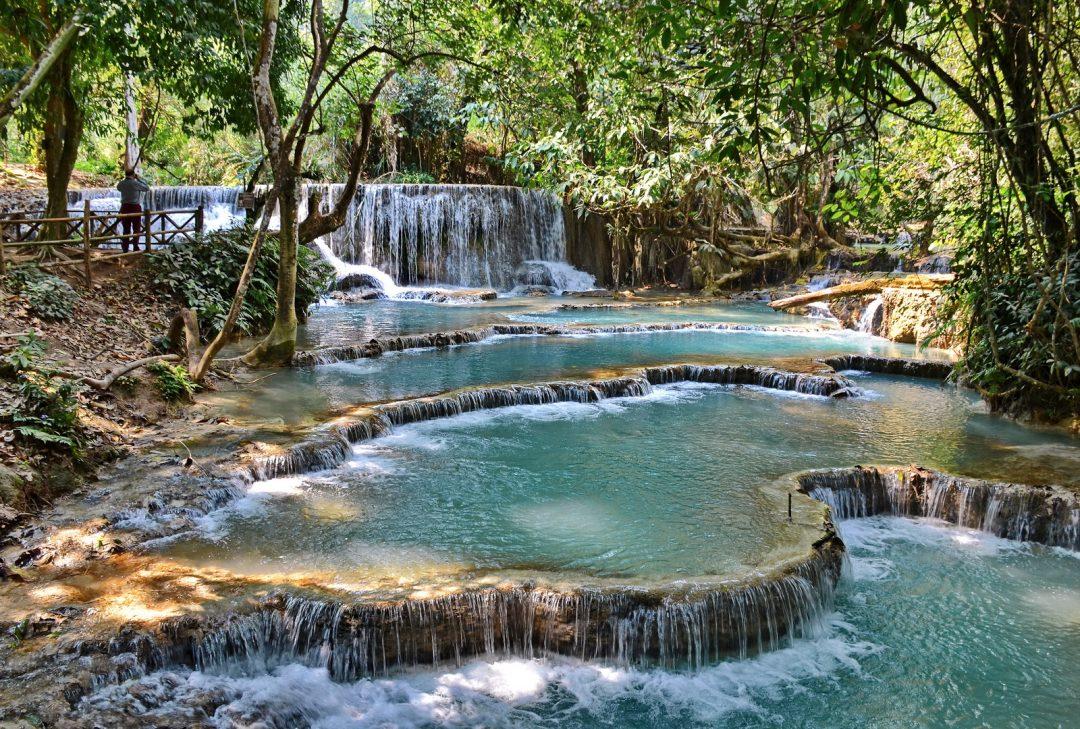 Luang Prabang, Laos, Kuang Si Falls