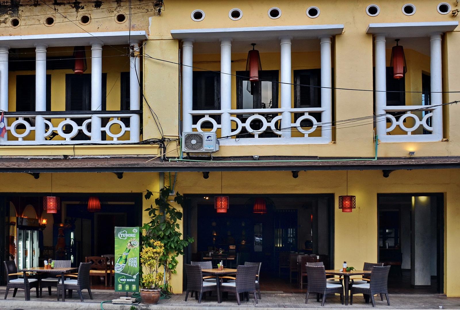Laos, Inthira Hotel, Thakaek