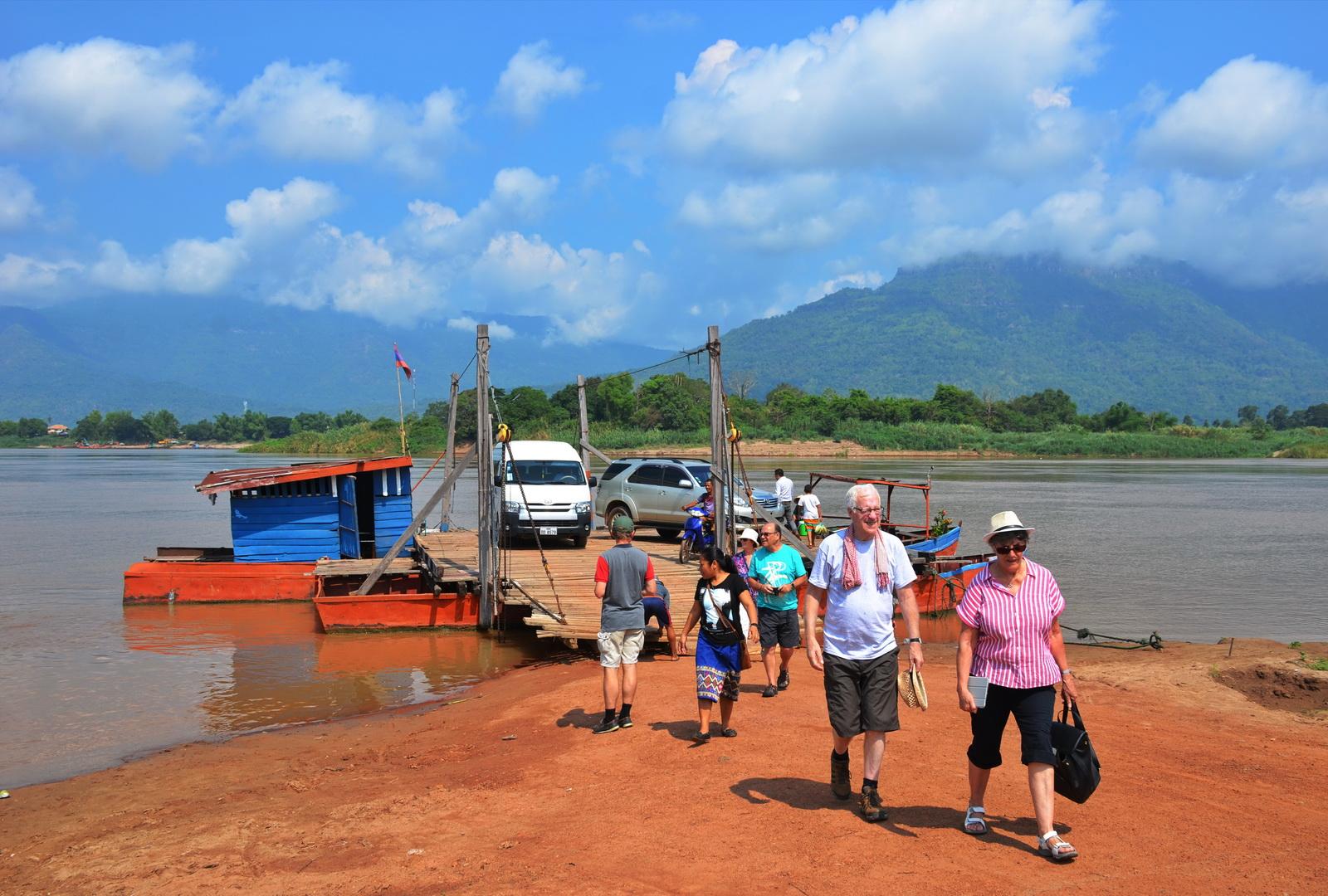 Mekong from Champassak to Ban Muang