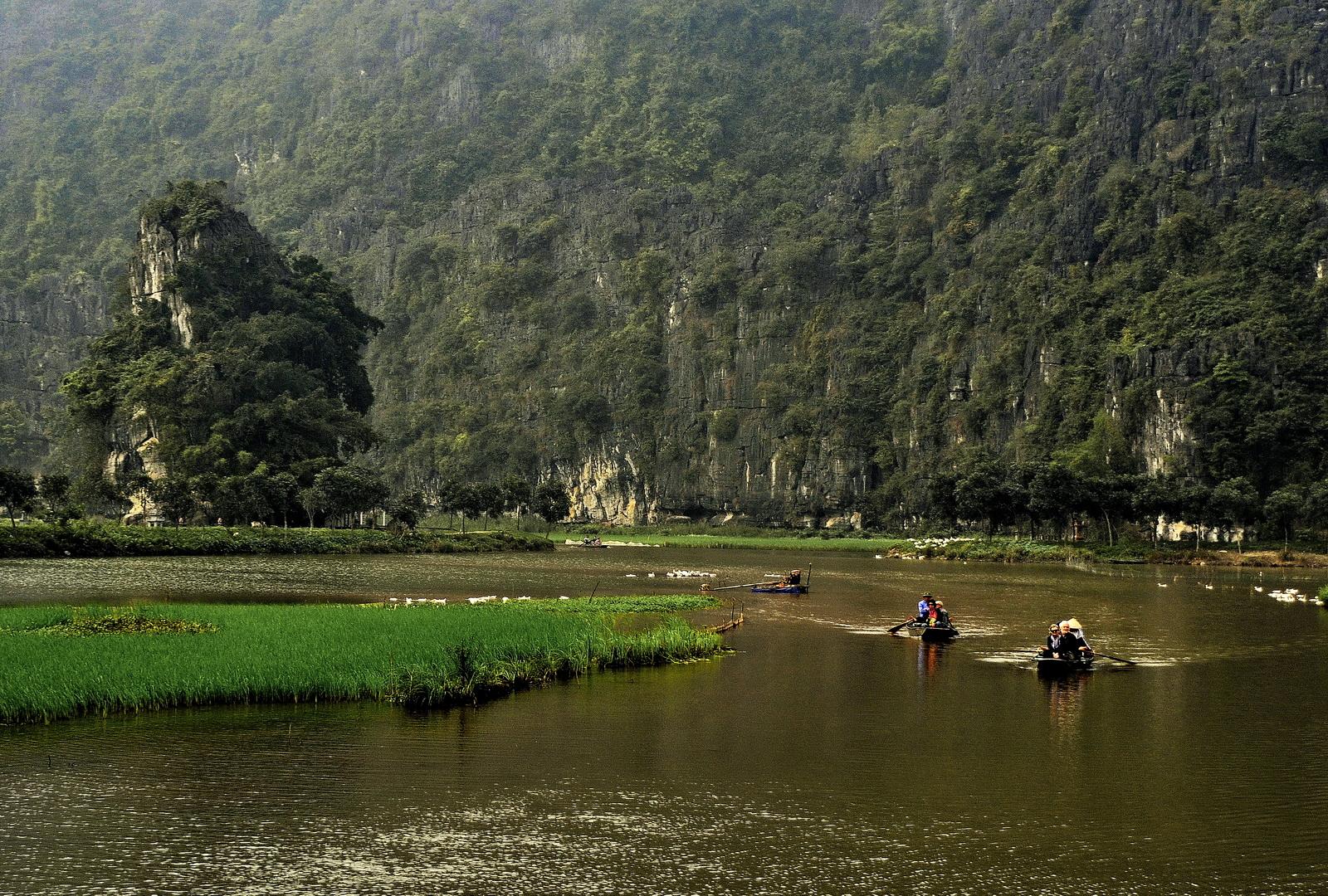 Vietnam, Trang An landscape