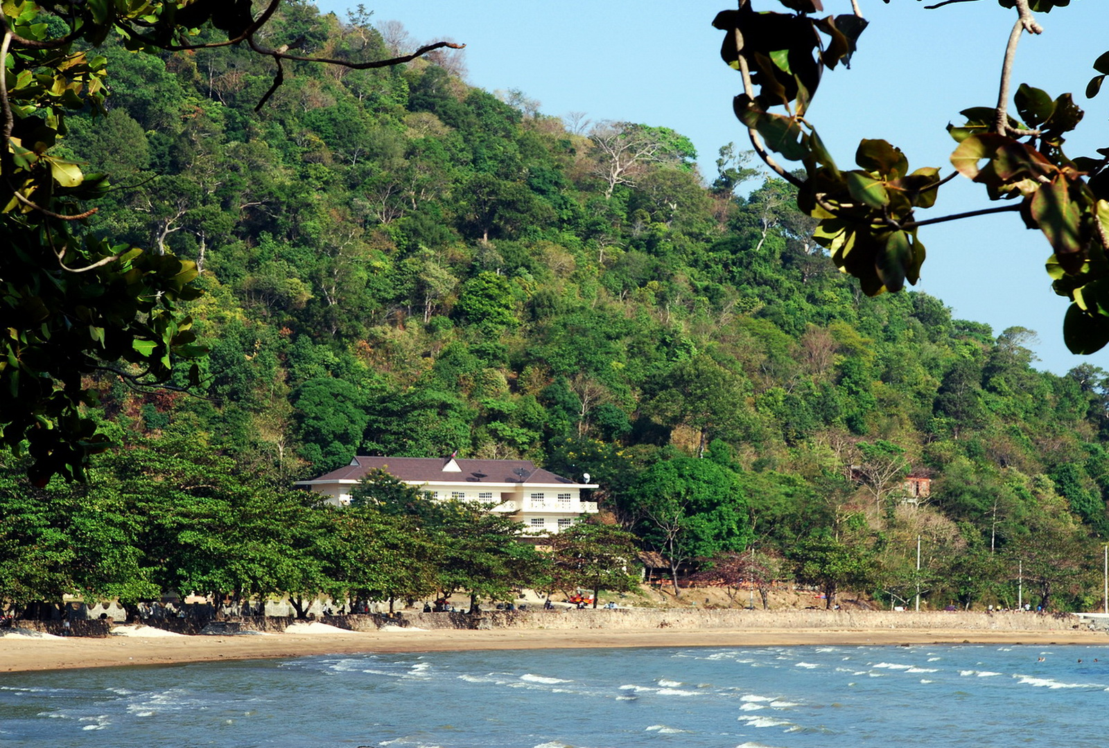 Cambodia, our Kep accommodation of choice - The Beachhouse