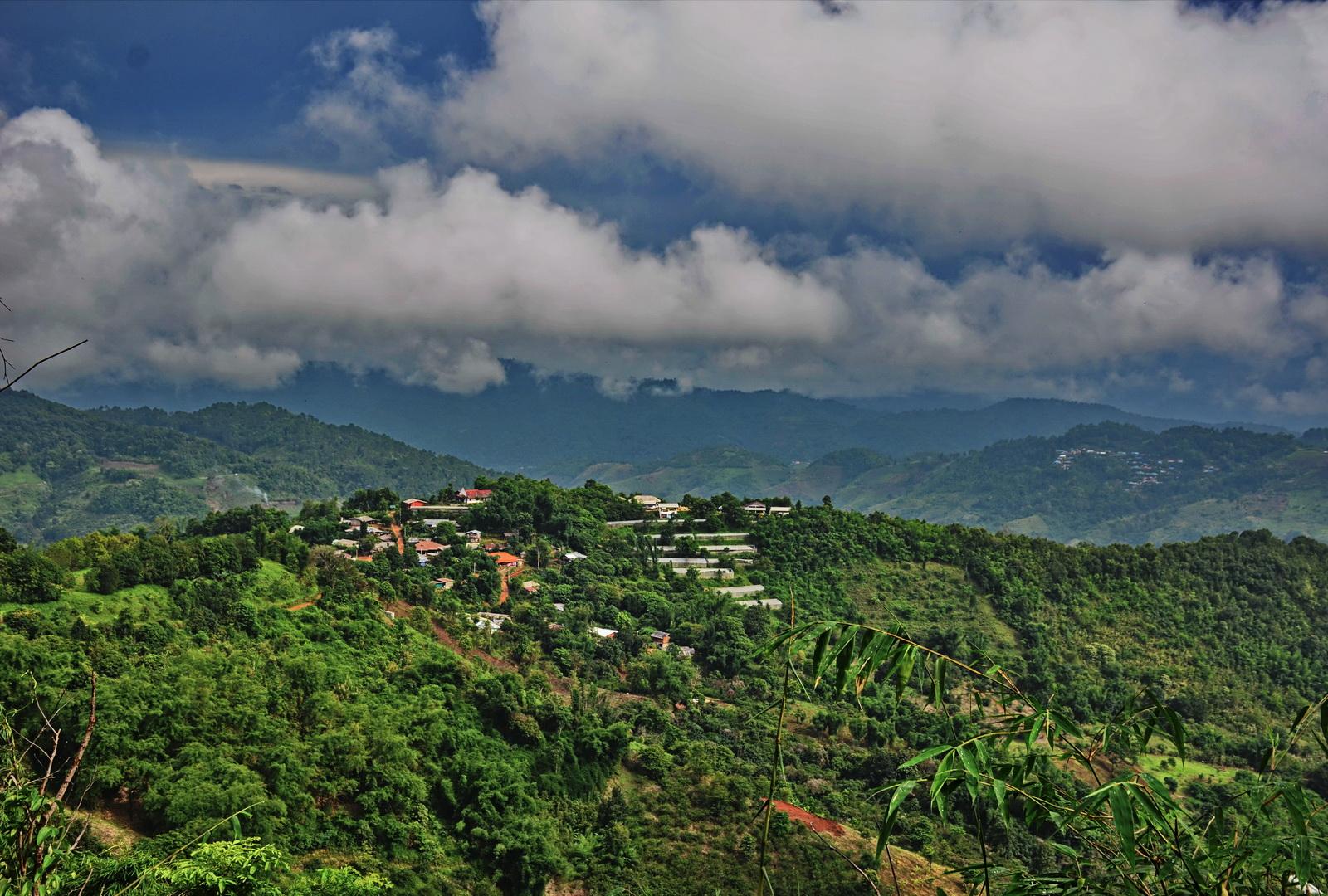 Thailand, mountain-top Mae Salong