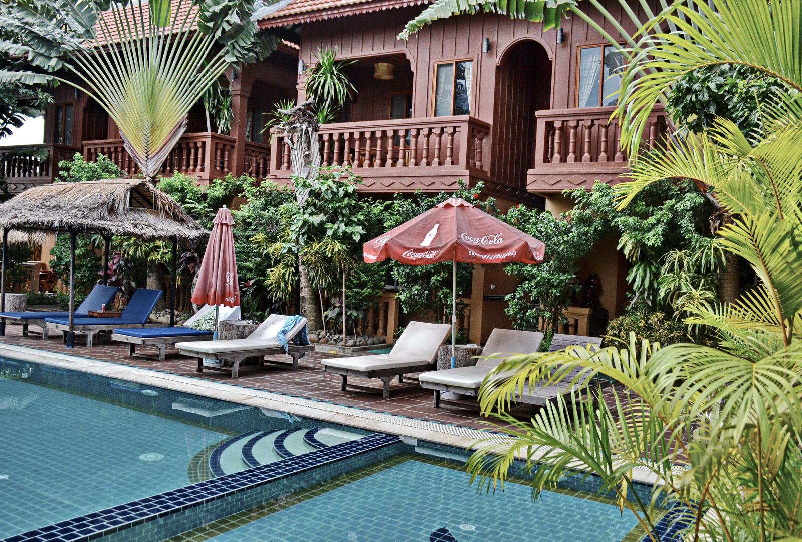 Cambodia, Delux Villa, Battambang