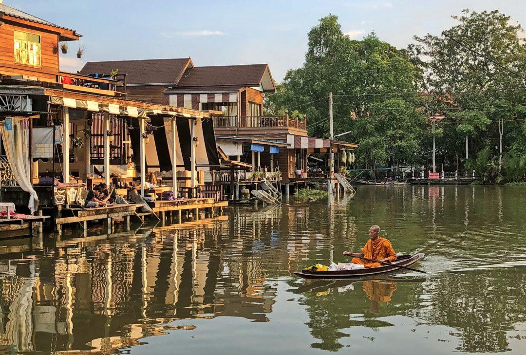 Thailand, Amphawa canals