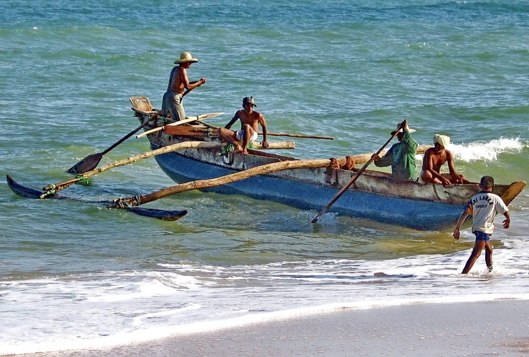 Sri Lanka photography tour fishing boat