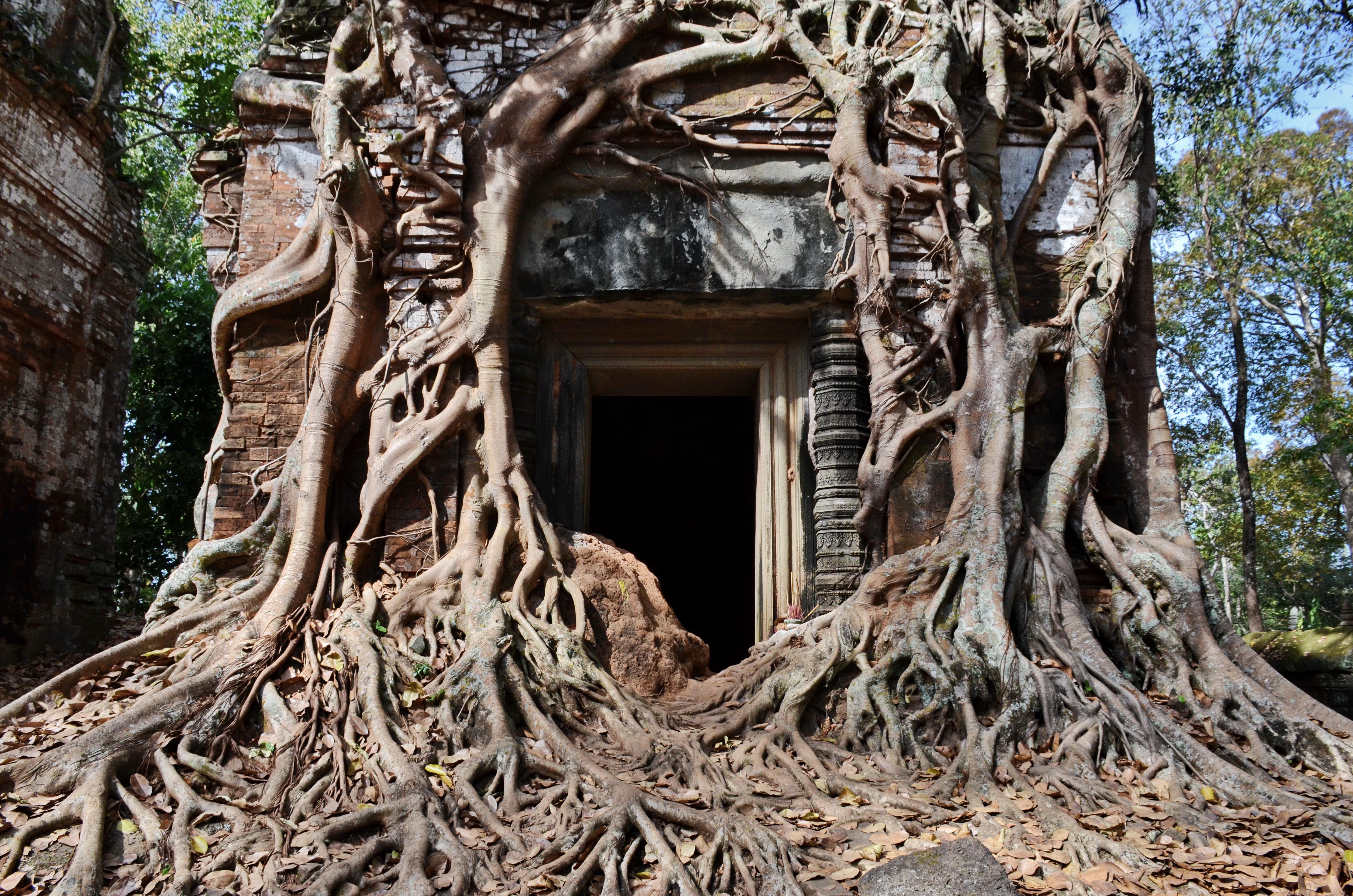 Jayarvarman IV. Roots at Prasart Bram, Koh Ker
