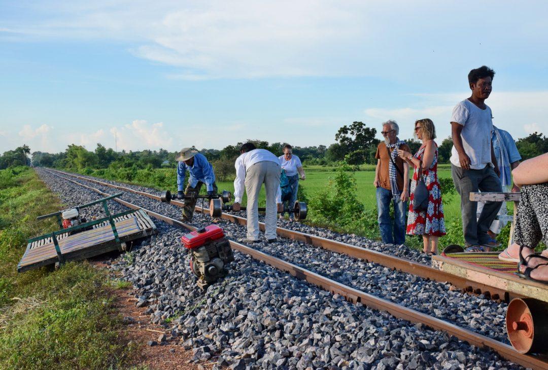 Cambodia, Battambang's Bamboo Railway