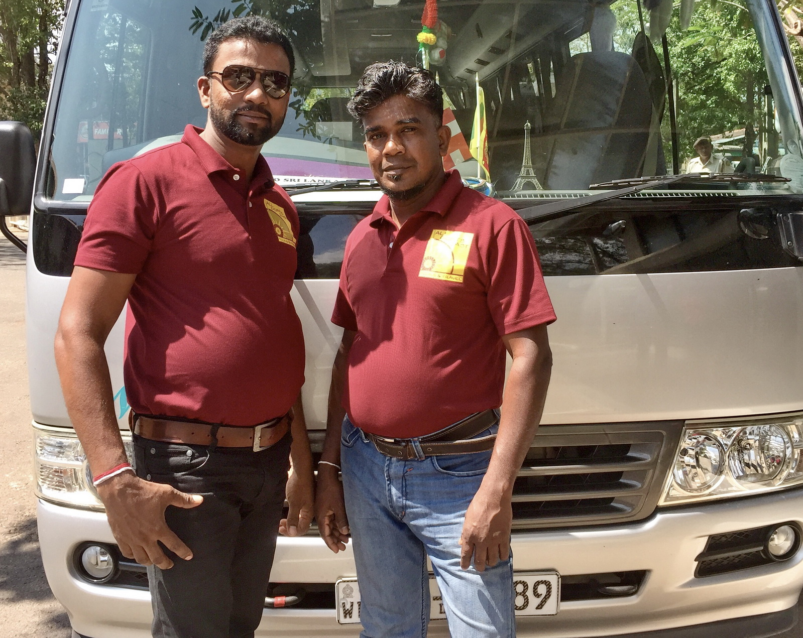Sri Lanka, Excellent bus crew!