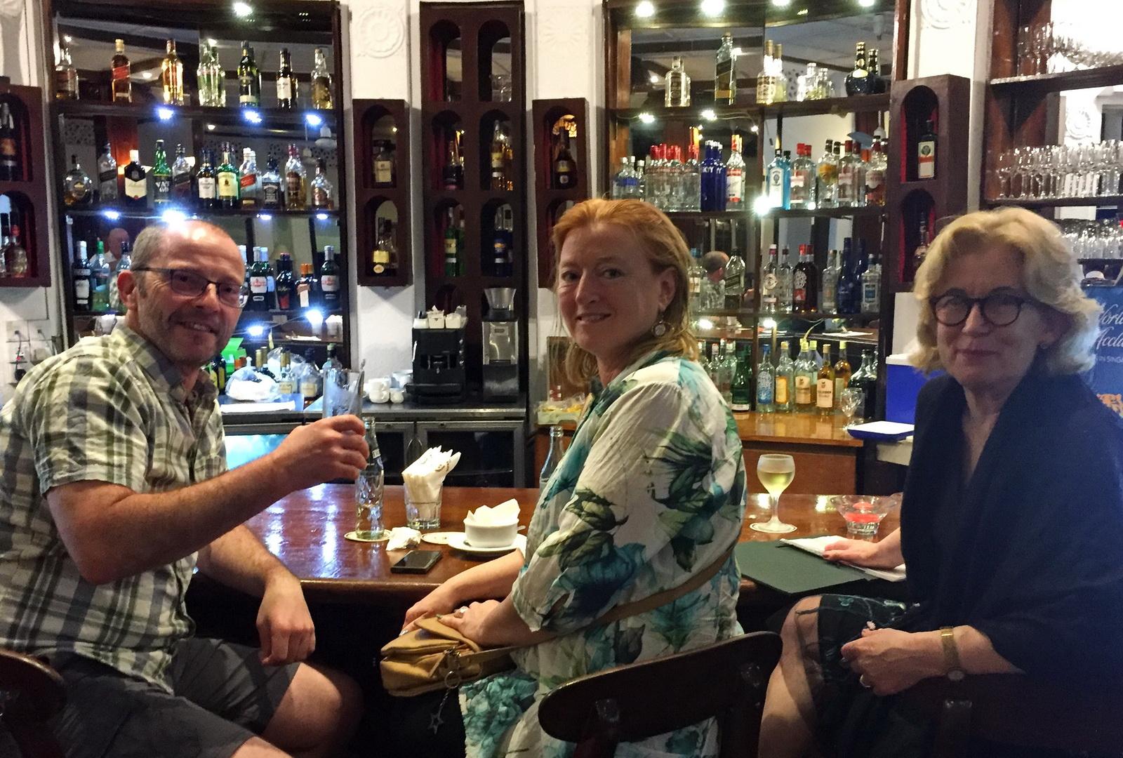 Sri Lanka, cocktails at Hotel Suisse
