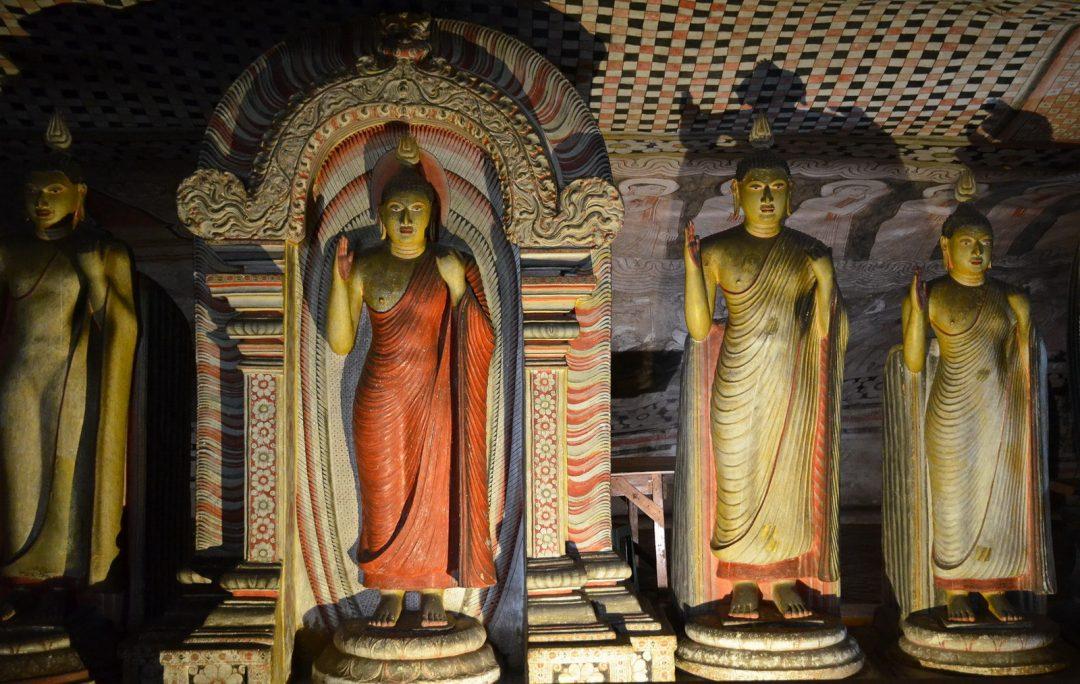 Sri Lanka, Dambulla Cave Temples