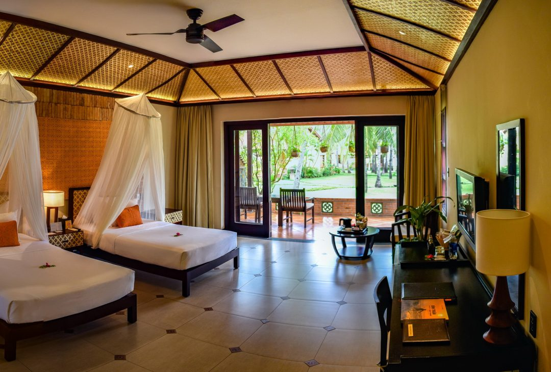Vietnam, Pandanus Resort - interior