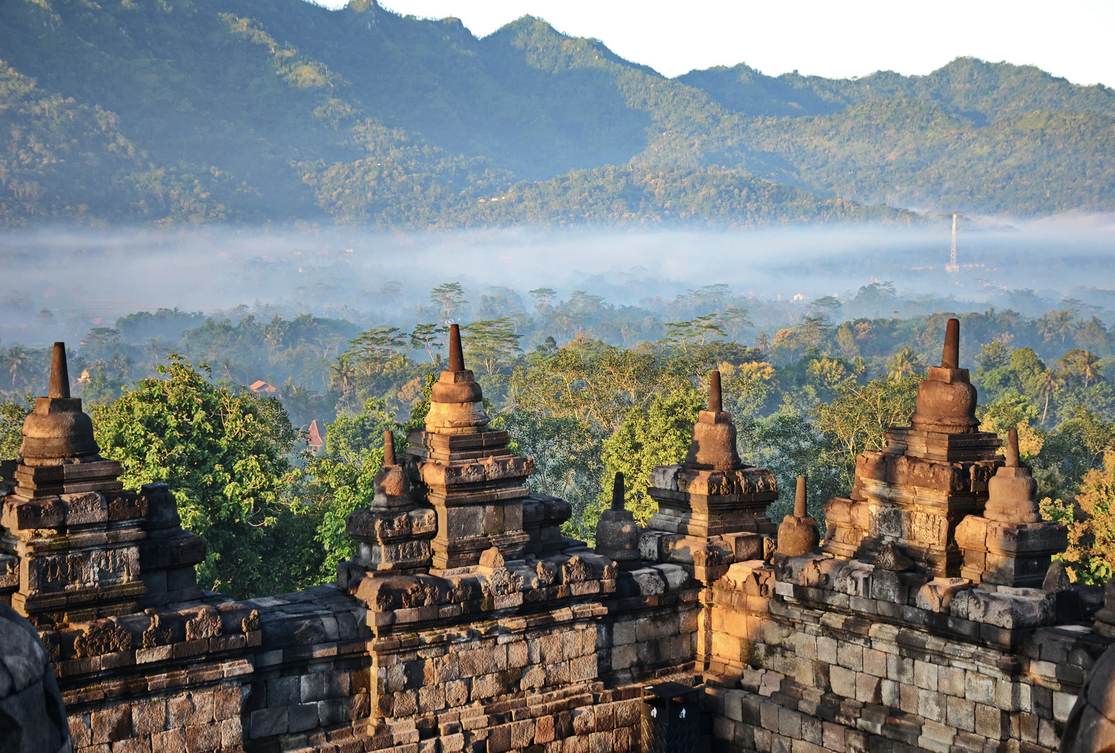 Indonesia, the Kedu Valley setting