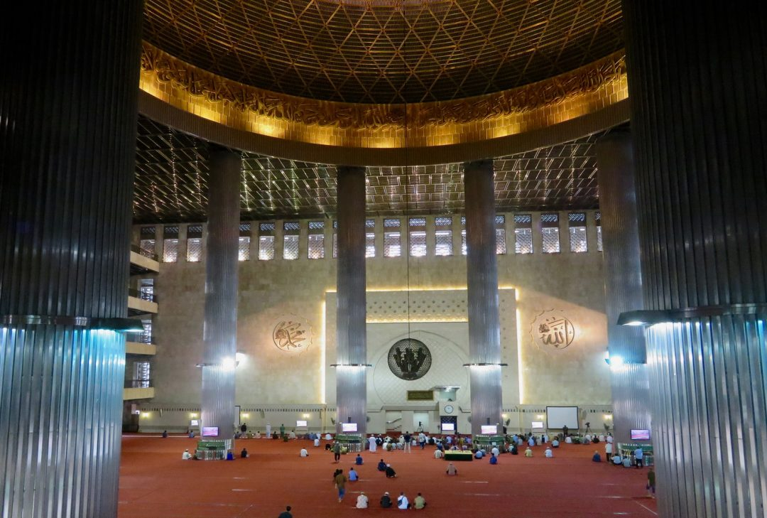 Indonesia. Jakarta Istiqlal Mosque by Sally Arnold