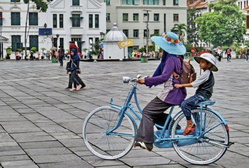 Indonesia. Jakarta, Kota by Sally Arnold