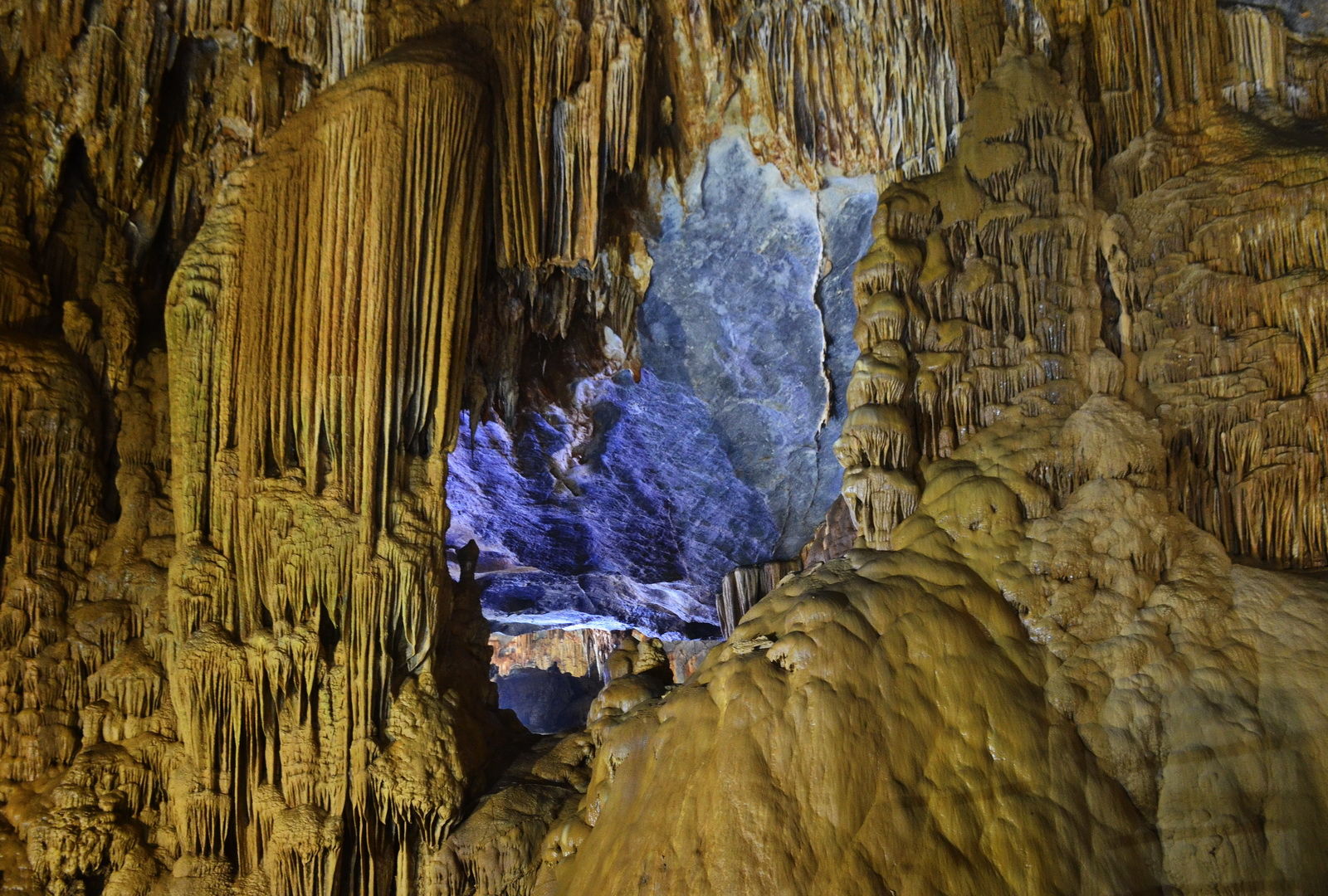 Vietnam. More limestone cave features in the aptly named Paradise Cave