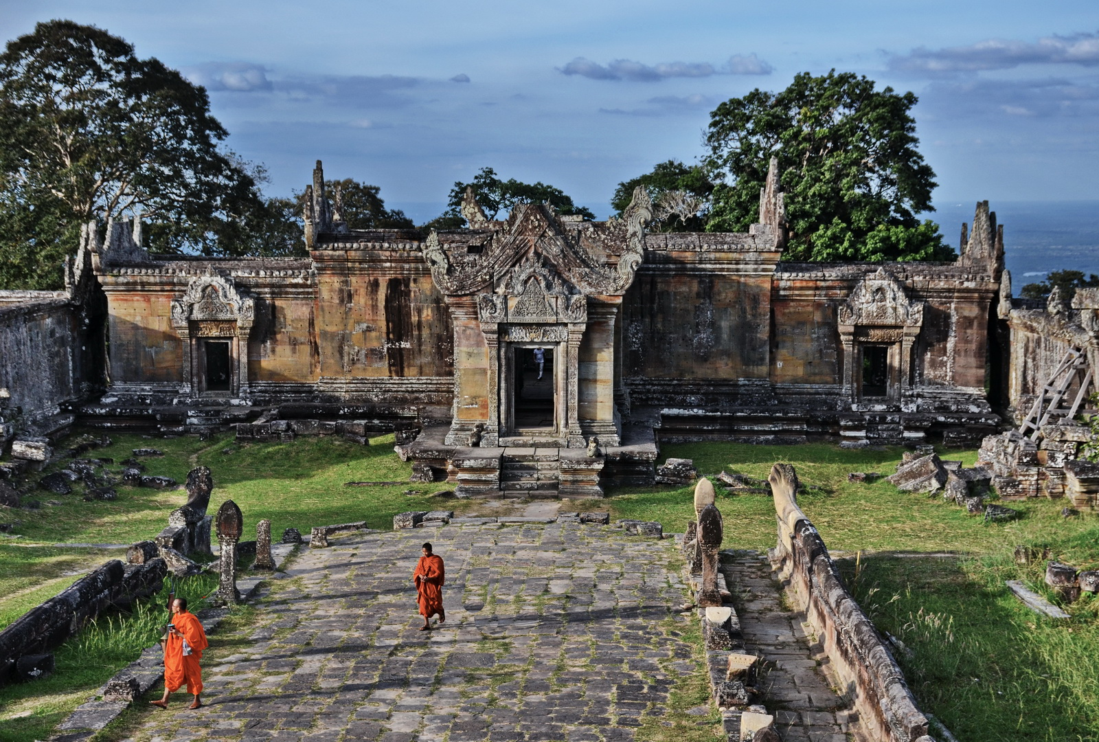Get away from the crowds at Preah Vihear